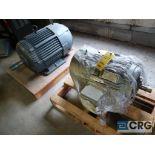 Lot of (2) assorted 30 HP motors (Motor Building)