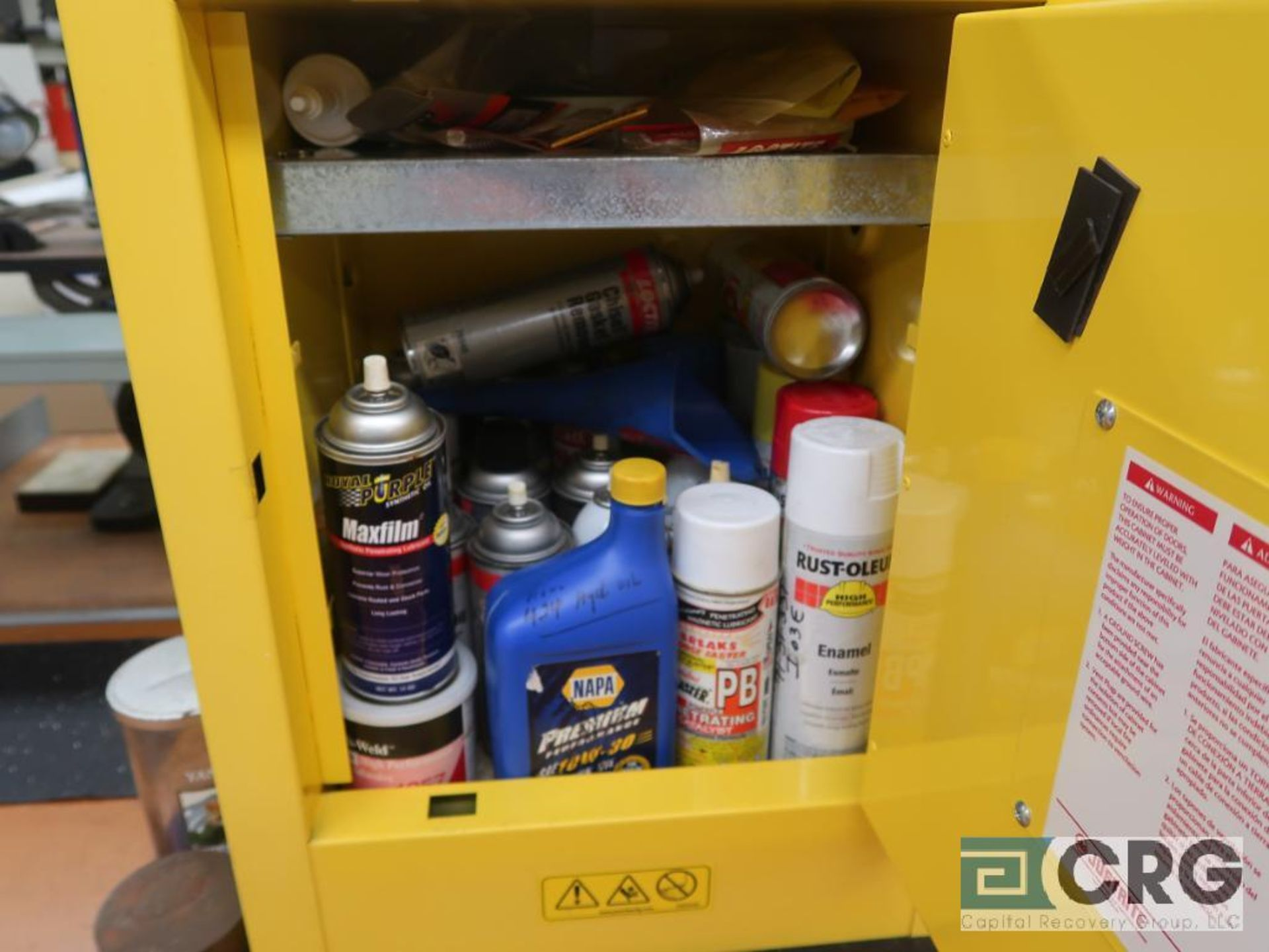 Just Rite 4 Gallon flammable storage cabinet(Dandy Room) - Image 3 of 3
