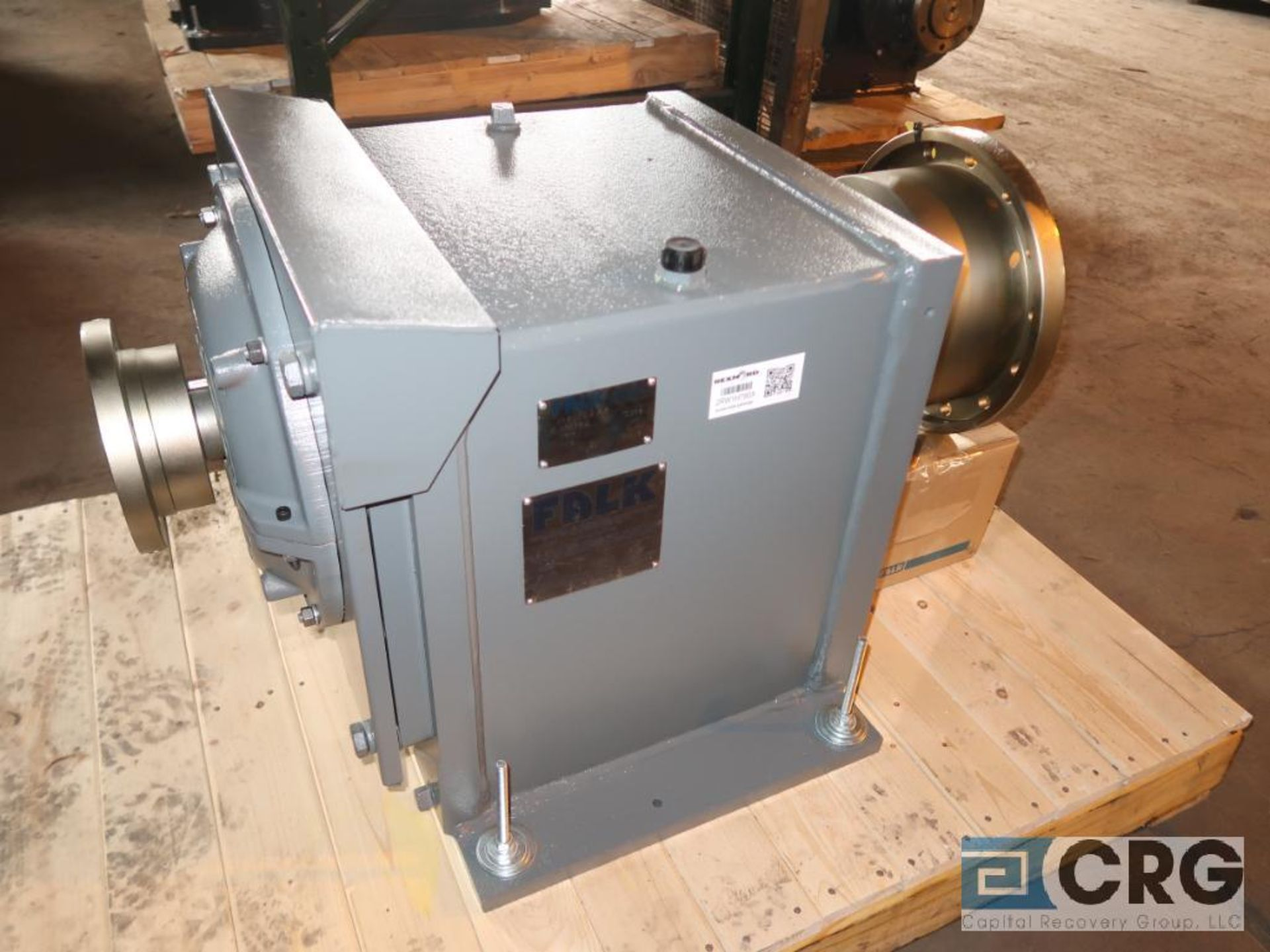 Falk 1080FC2AB gear drive, ratio-7.779, input RPM 1,917, output RPM 246, service rate HP. 100, s/n - Image 2 of 3