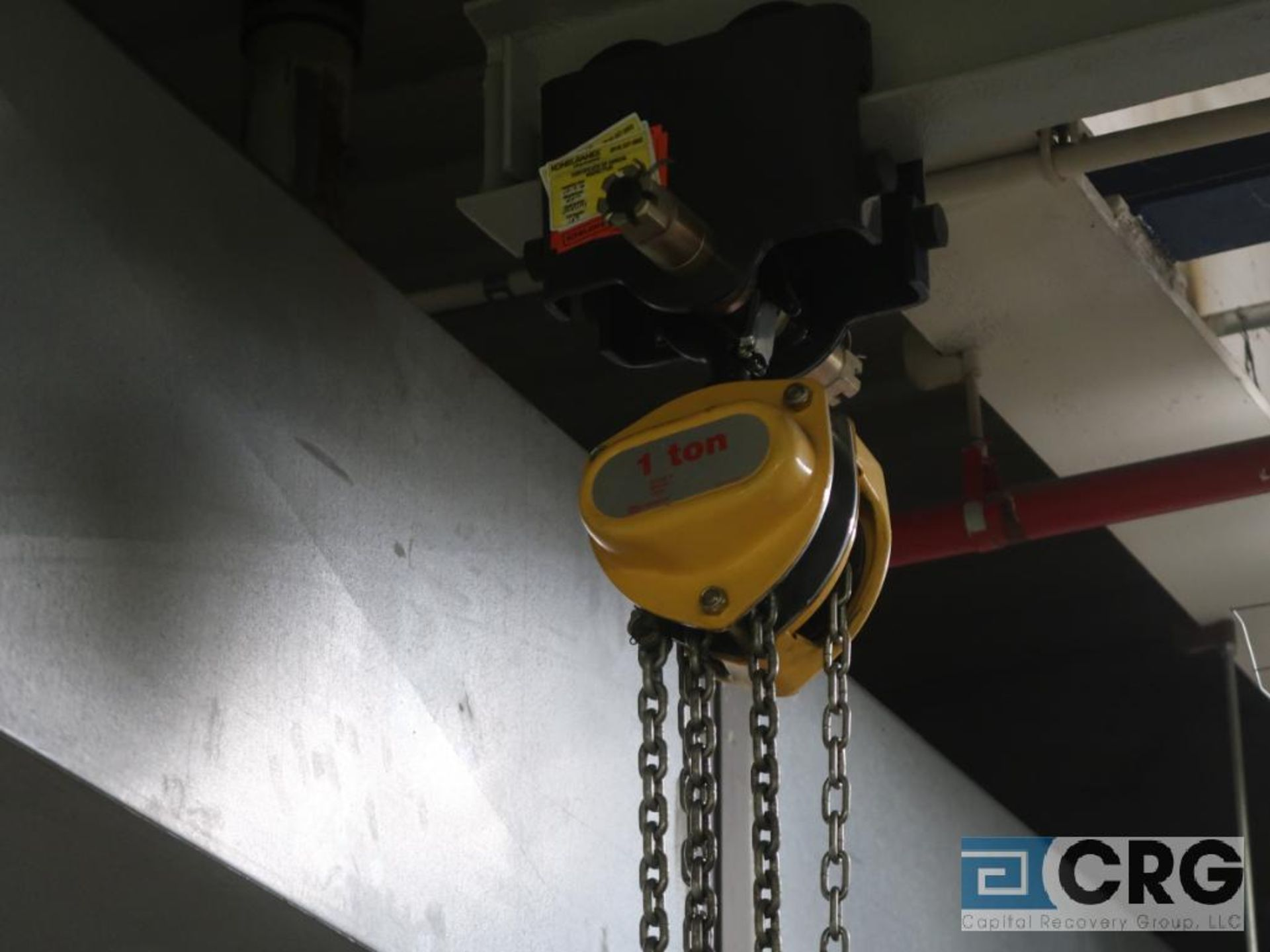 Lot of (3) chain hoists, 1/2 ton cap.-no rail (Stores Area) - Image 3 of 3