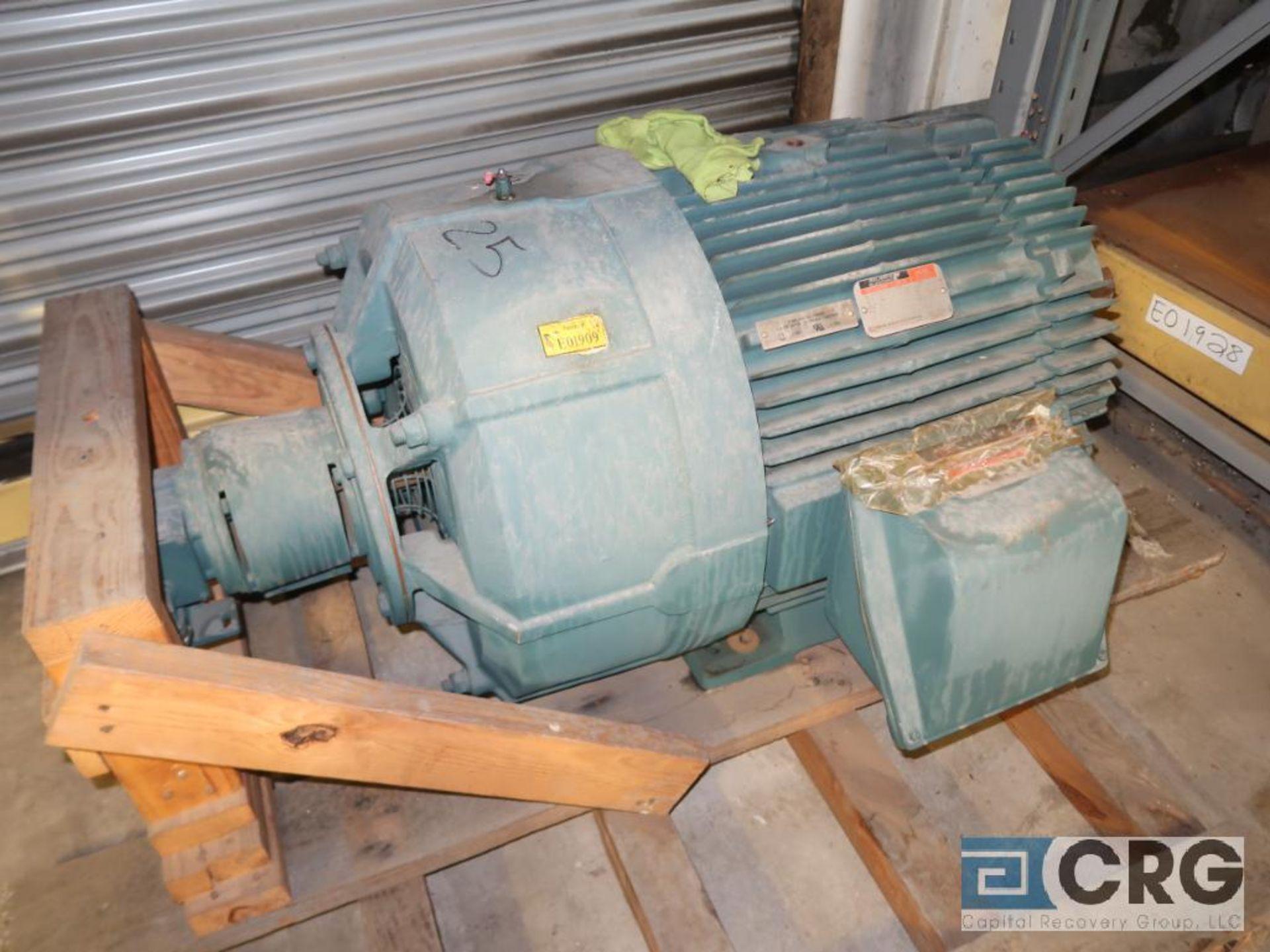 Lot of (3) assorted 25 HP motors (Motor Building)