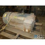 Siemens motor, 300 HP, 1,183 RPM, 2,300 volts, frame 509, equipment #E00828 (496 Dock Area)