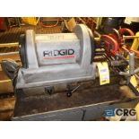 Ridgid 1822-1 pipe threader with (2) assorted heads, s/n EA1-58940197 (496 Dock Area)