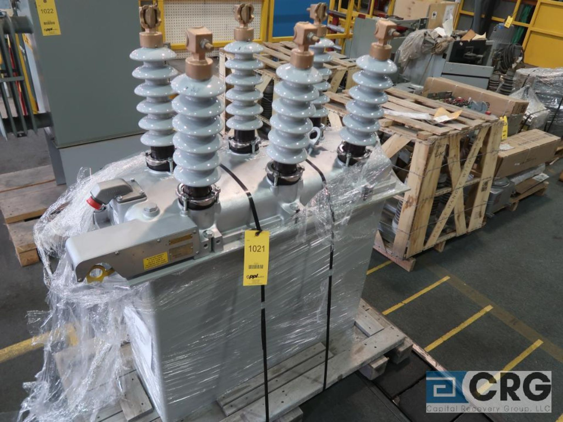 McGraw-Edison 27 KVA transformer, s/n 4424 (Finish Building)