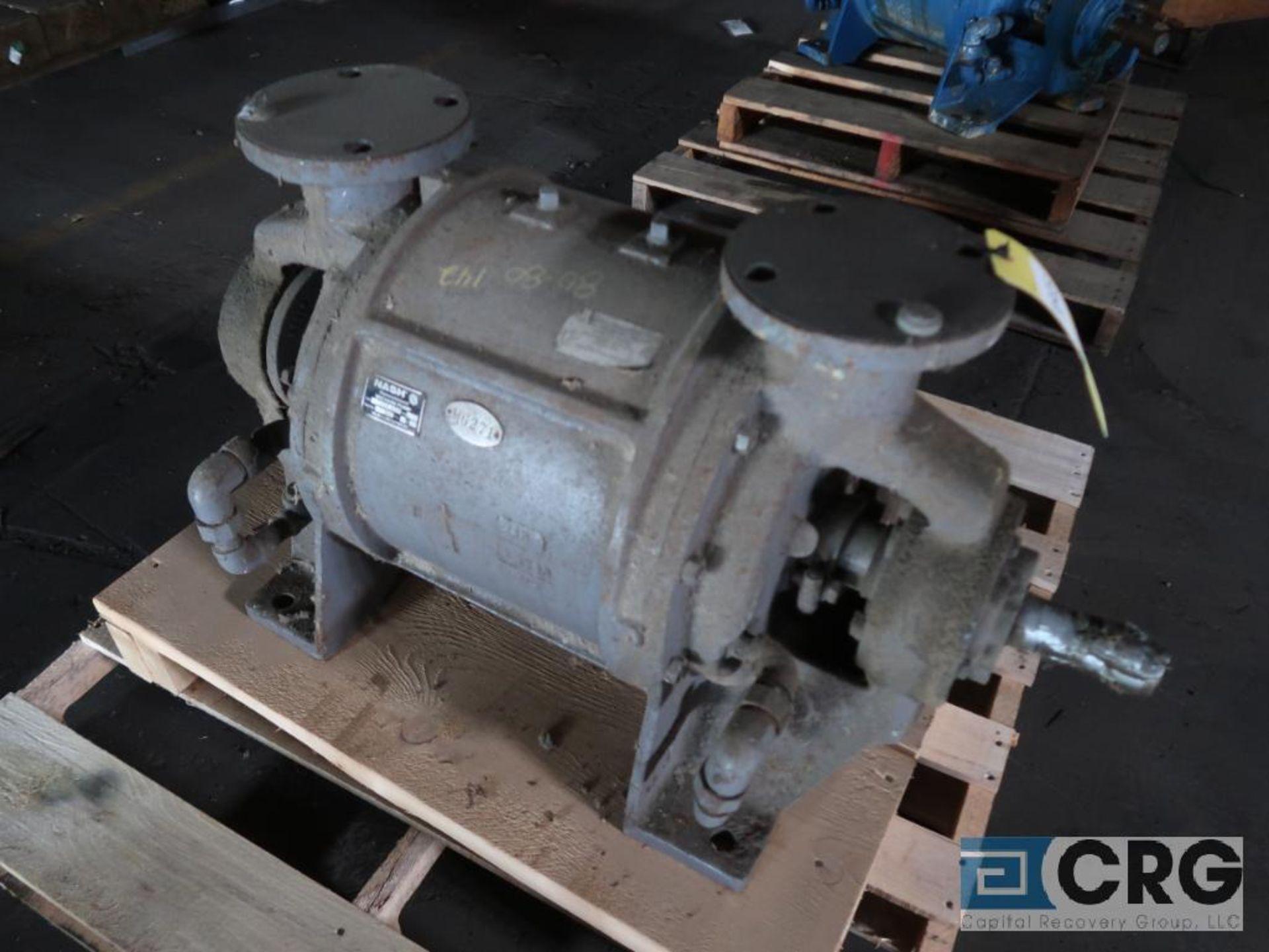 Nash CL 402 vacuum pump, s/n U 185 (Off Site Warehouse)