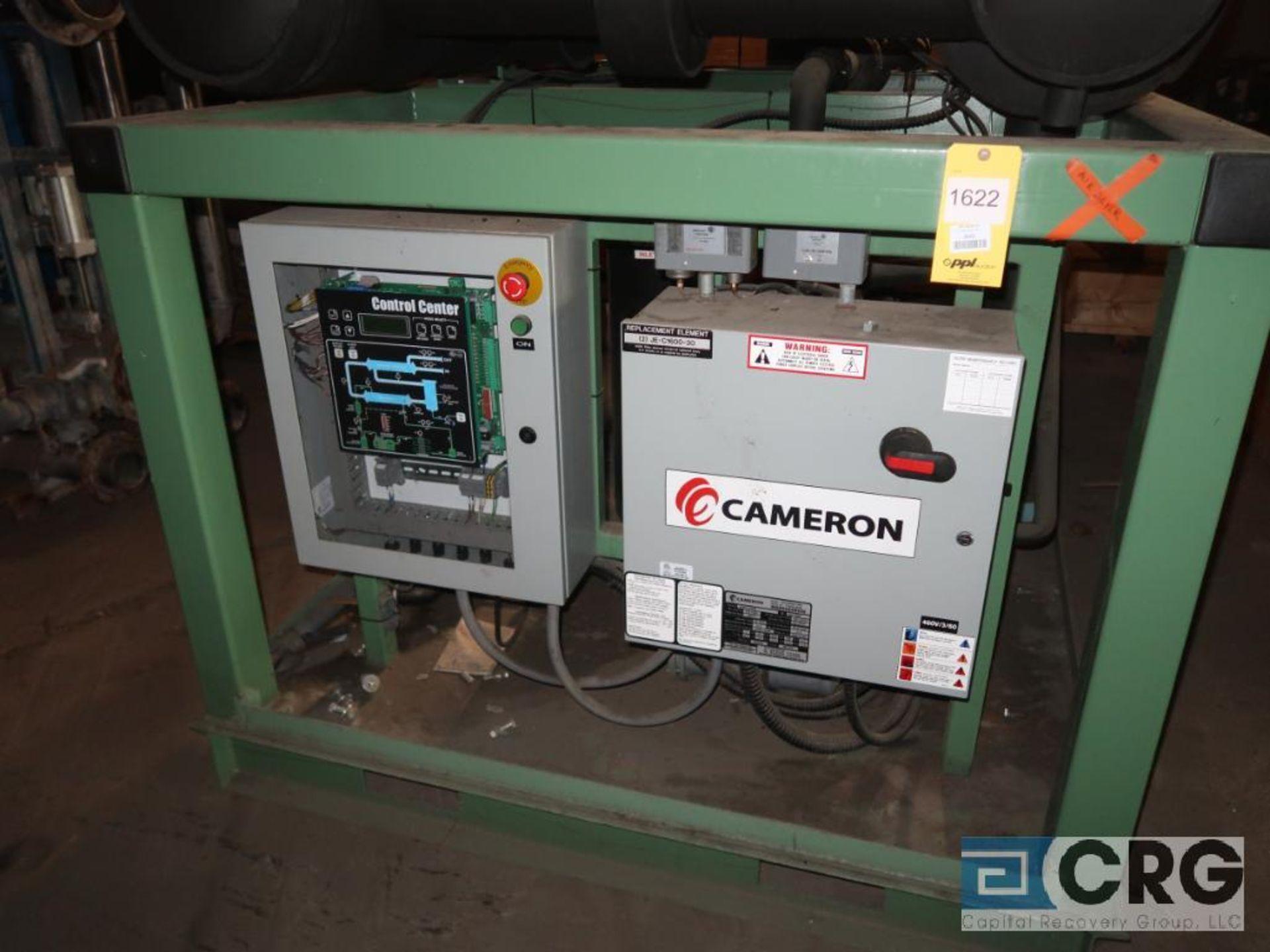 Cameron DC4000 W4 refrigeration/air dryer system, cap. 4,000 SCFM, MWP175, 460 volt (Off Site - Image 2 of 4