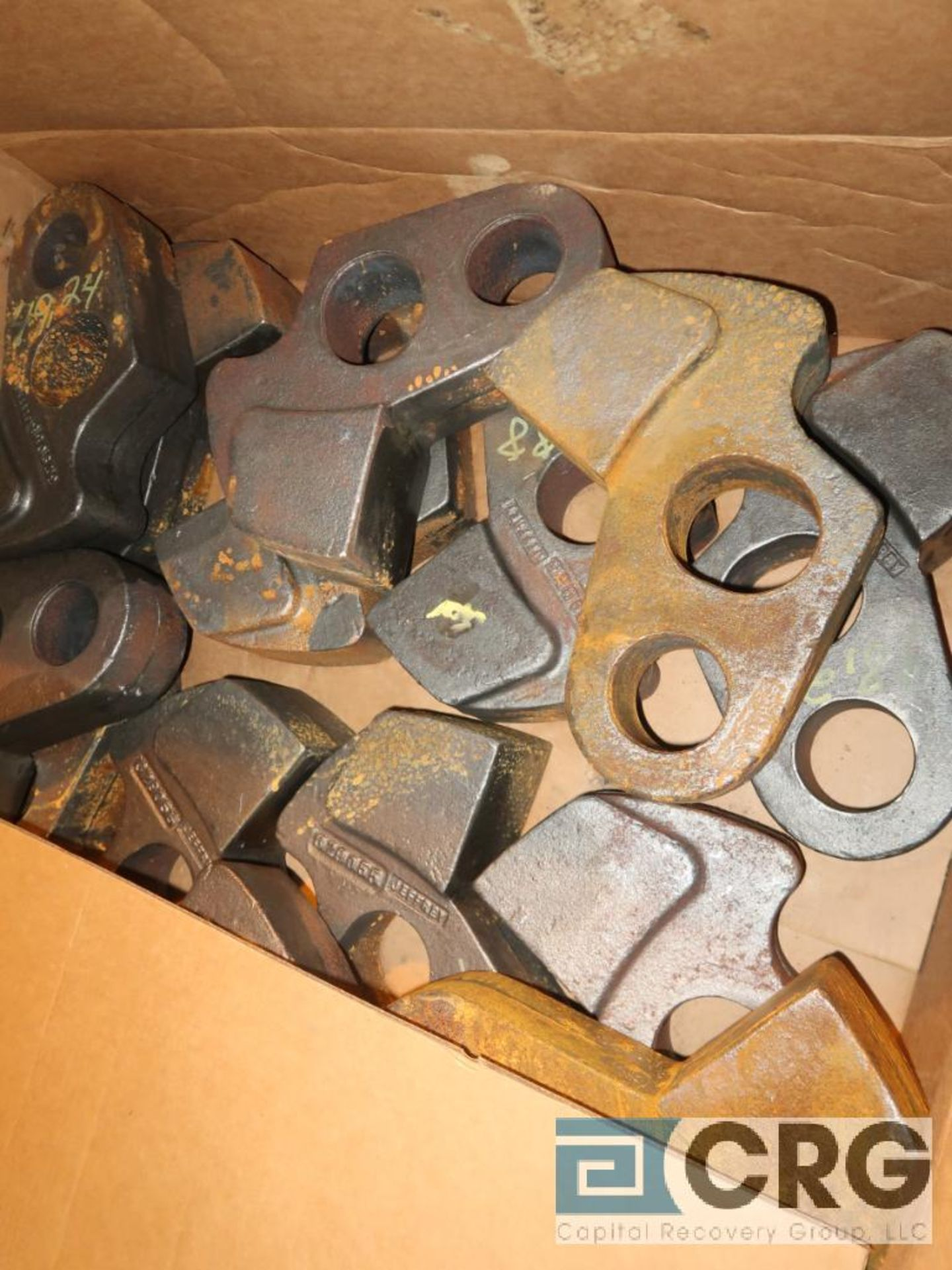 Lot of assorted parts for debarker, coal, and chipper on (29) pallets (Next Bay Cage Area) - Image 5 of 17