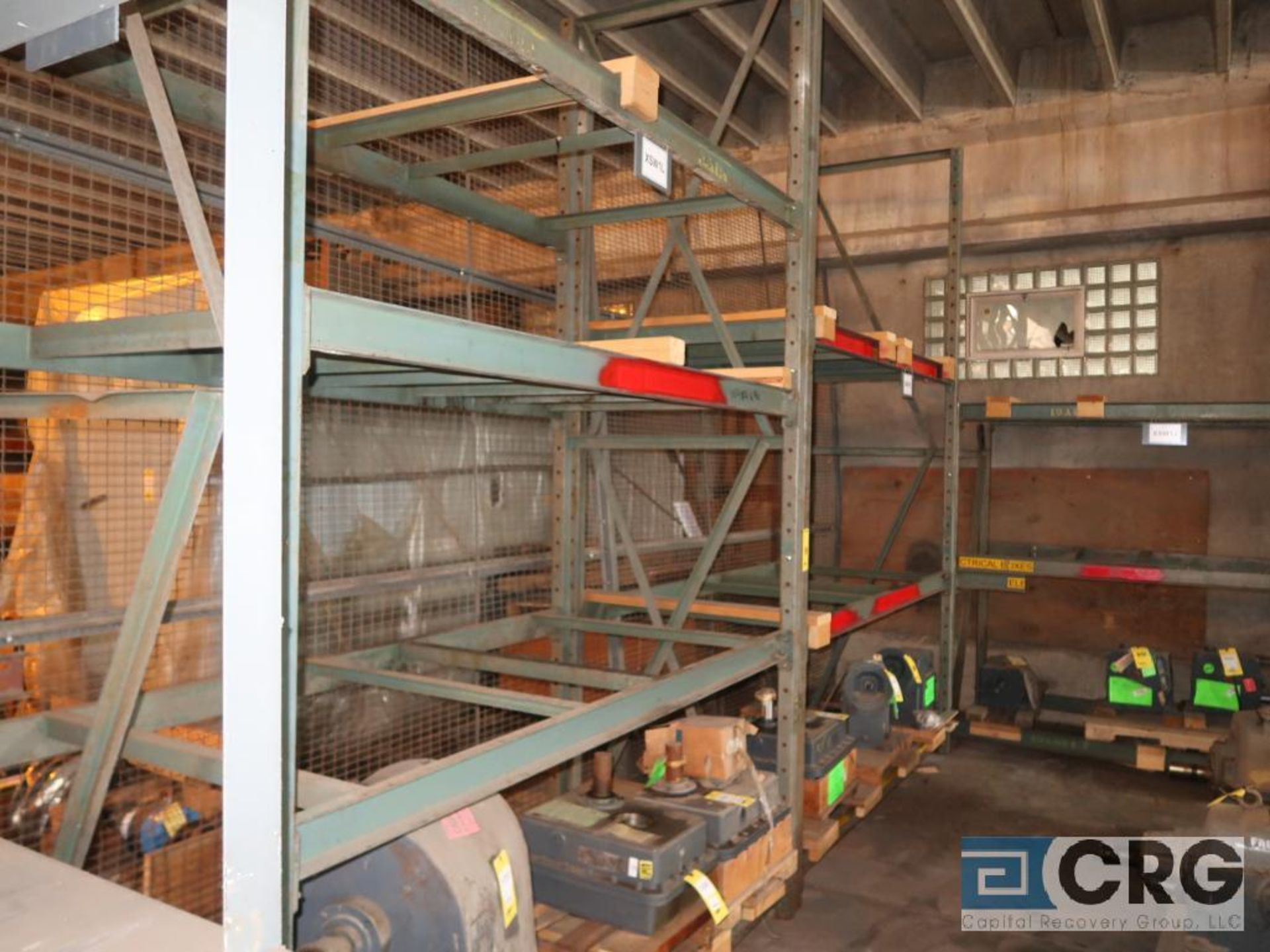 Lot of (6) sections pallet rack including (1) 6 ft. H x 30 in. W, (4) 120 in. cross bars, (4) 12 ft. - Image 3 of 5