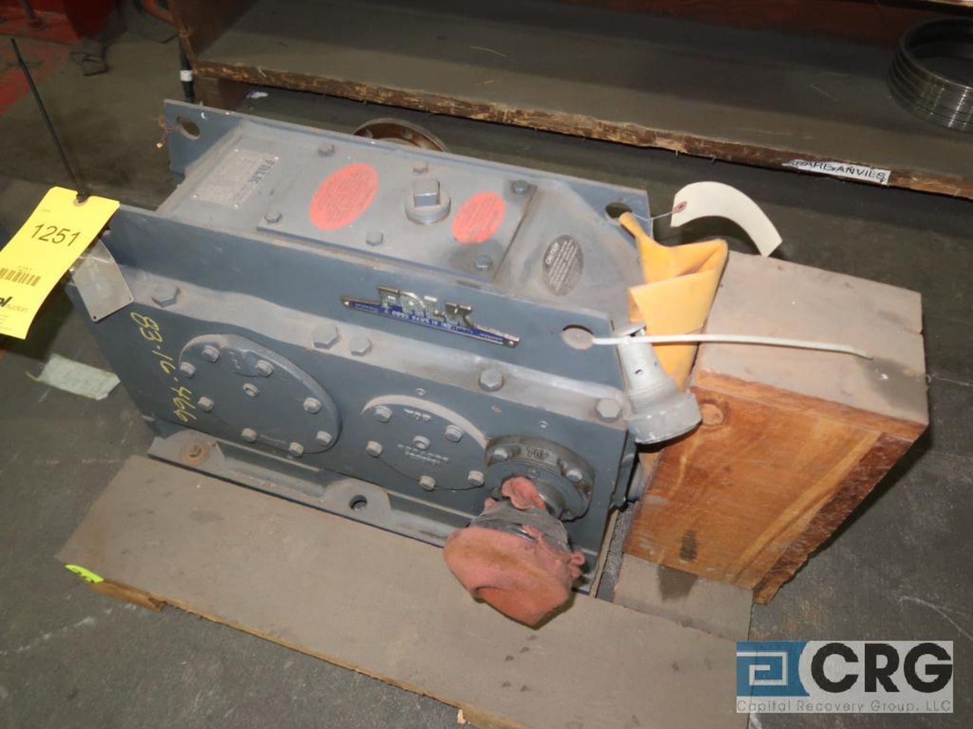 Falk 305 A2A parallel gear drive, ratio 27.600, 43.5 RPM, s/n 7021-11 (Finish Building)
