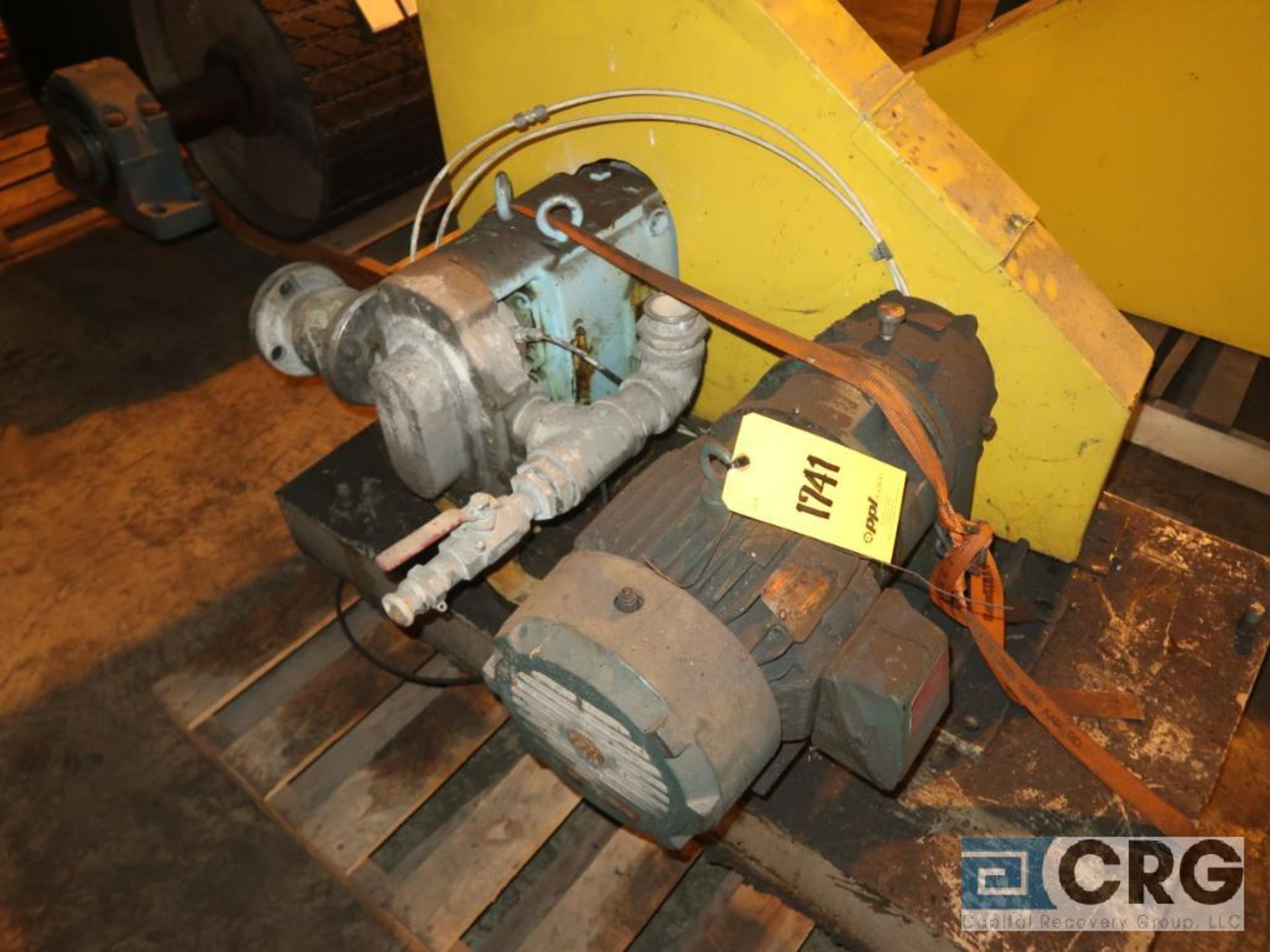Waukesha 5050 positive displacement pump with 5 HP motor (Next Bay Cage Area) - Image 2 of 2