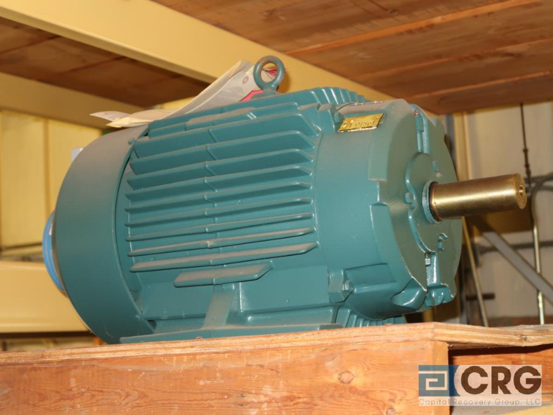 Lot of (5) assorted 25 HP motors on (2) shelves (Motor Building) - Image 3 of 3