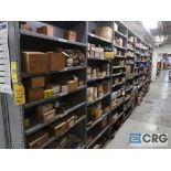 Lot of (12) sections with assorted parts including taper locks, bushings, sleeves, and couplings-