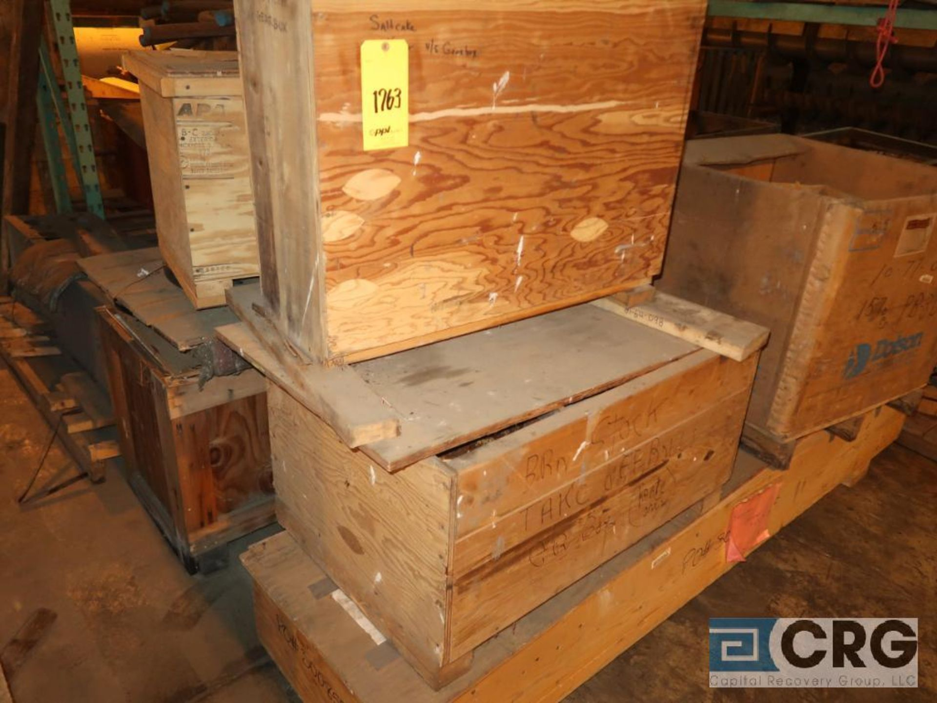 Lot of assorted parts including expansion joint, valves, fan blade, and rotors (Next Bay Cage Area) - Image 8 of 15