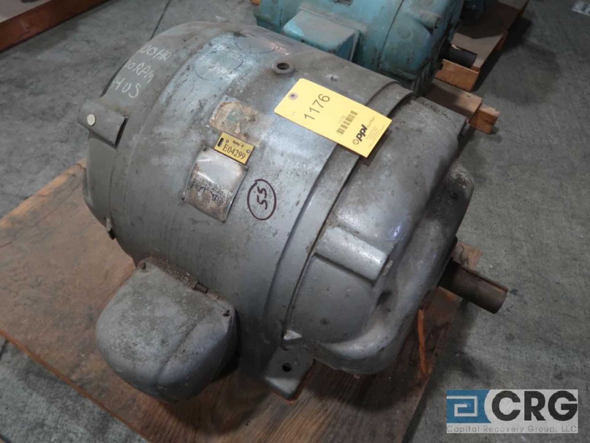 U.S. Electrical Uniclosed motor, 100 HP, 1,800 RPMs, 220/440 volt, 3 ph., 444US frame (Finish