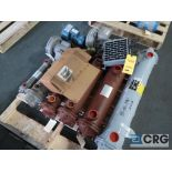 Lot of (8) assorted tube type heat exchangers (Finish Building)