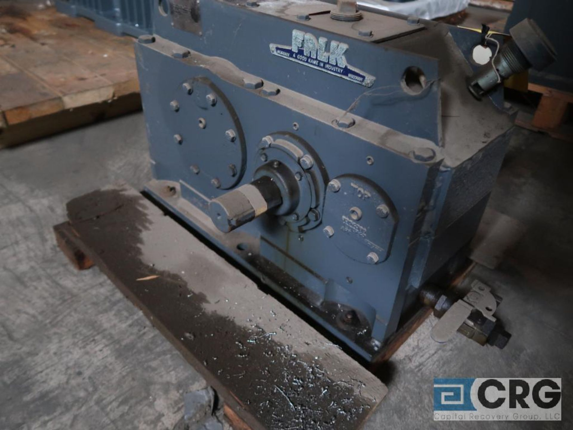 Falk 2050 Y1L gear drive, ratio 5.267, input RPM 1,750, output RPM 332.3, service rate HP. 75, s/n - Image 2 of 3