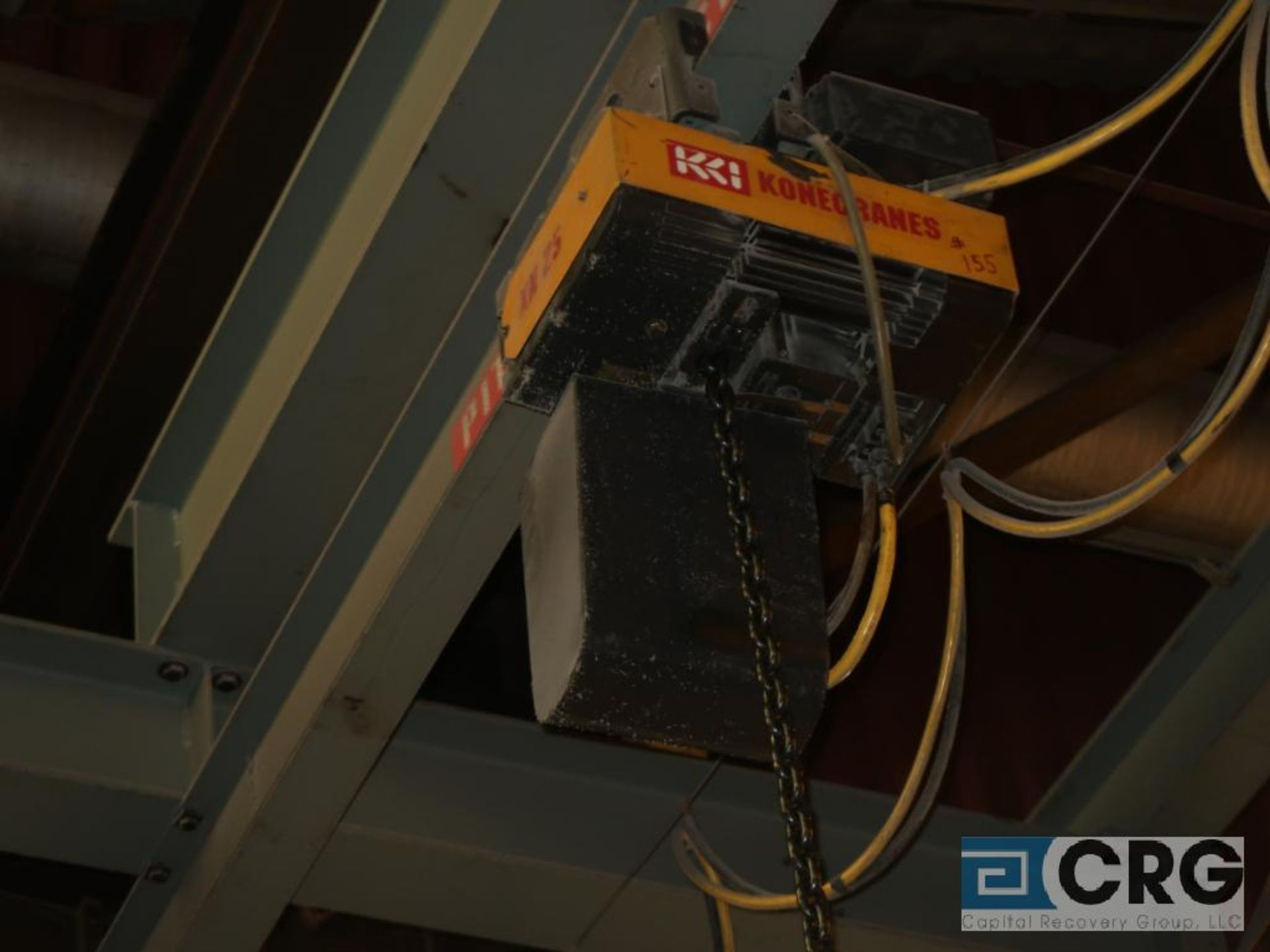 Konecranes XN25 electric hoist, 3 ton cap., hoist only, no beam-LATE DELIVERY (Located on Level - Image 2 of 12