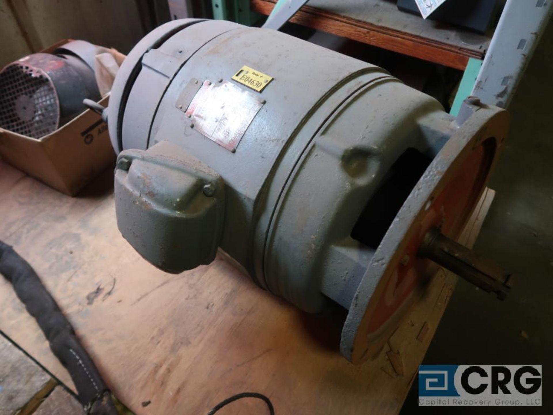 Lot of (3) assorted 30 HP motors (Motor Building) - Image 3 of 3