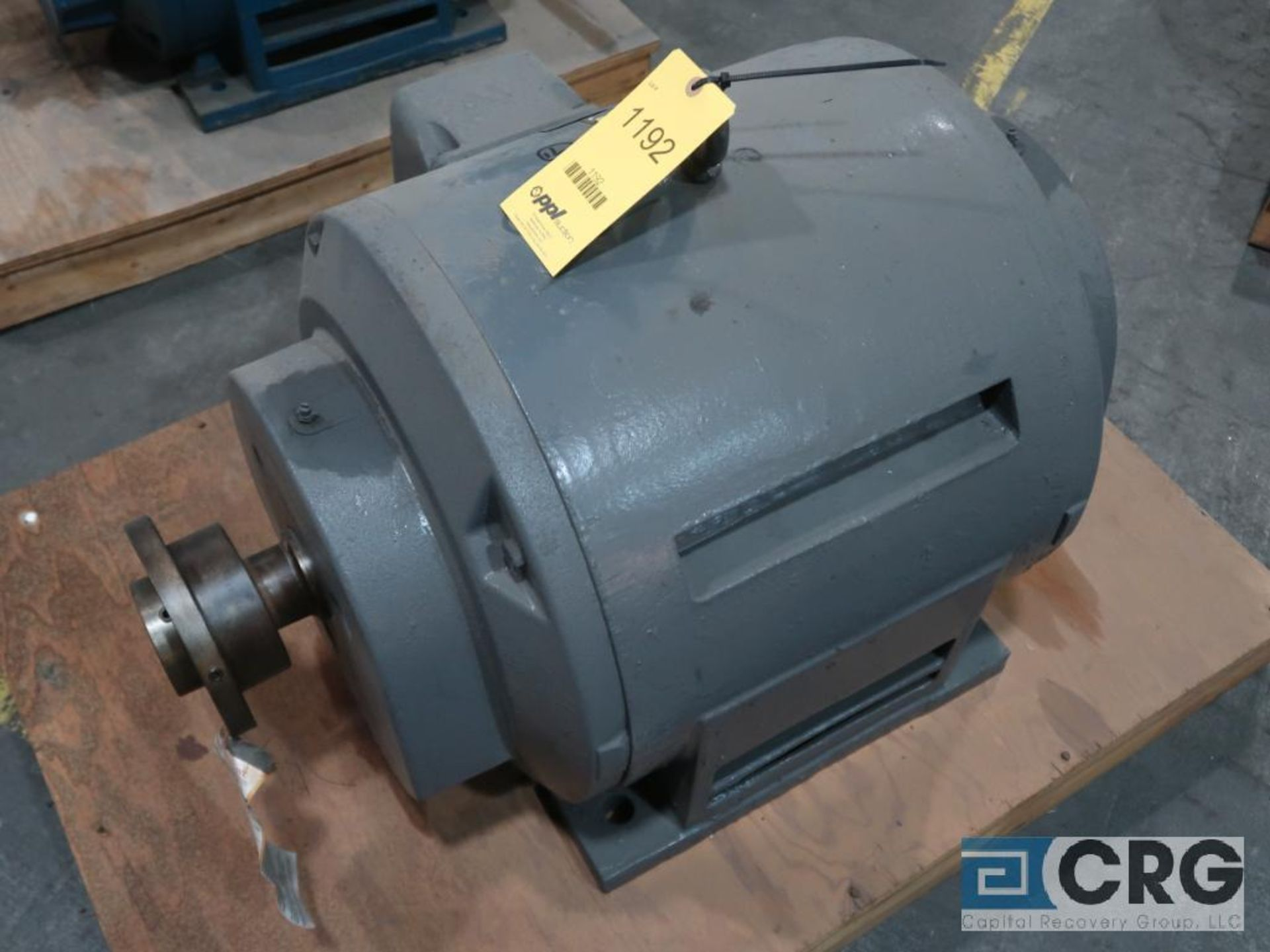Reliance Duty Master A-C motor, 75 HP, 1,770 RPMs, 440 volt, 3 ph., 405U frame (Finish Building)