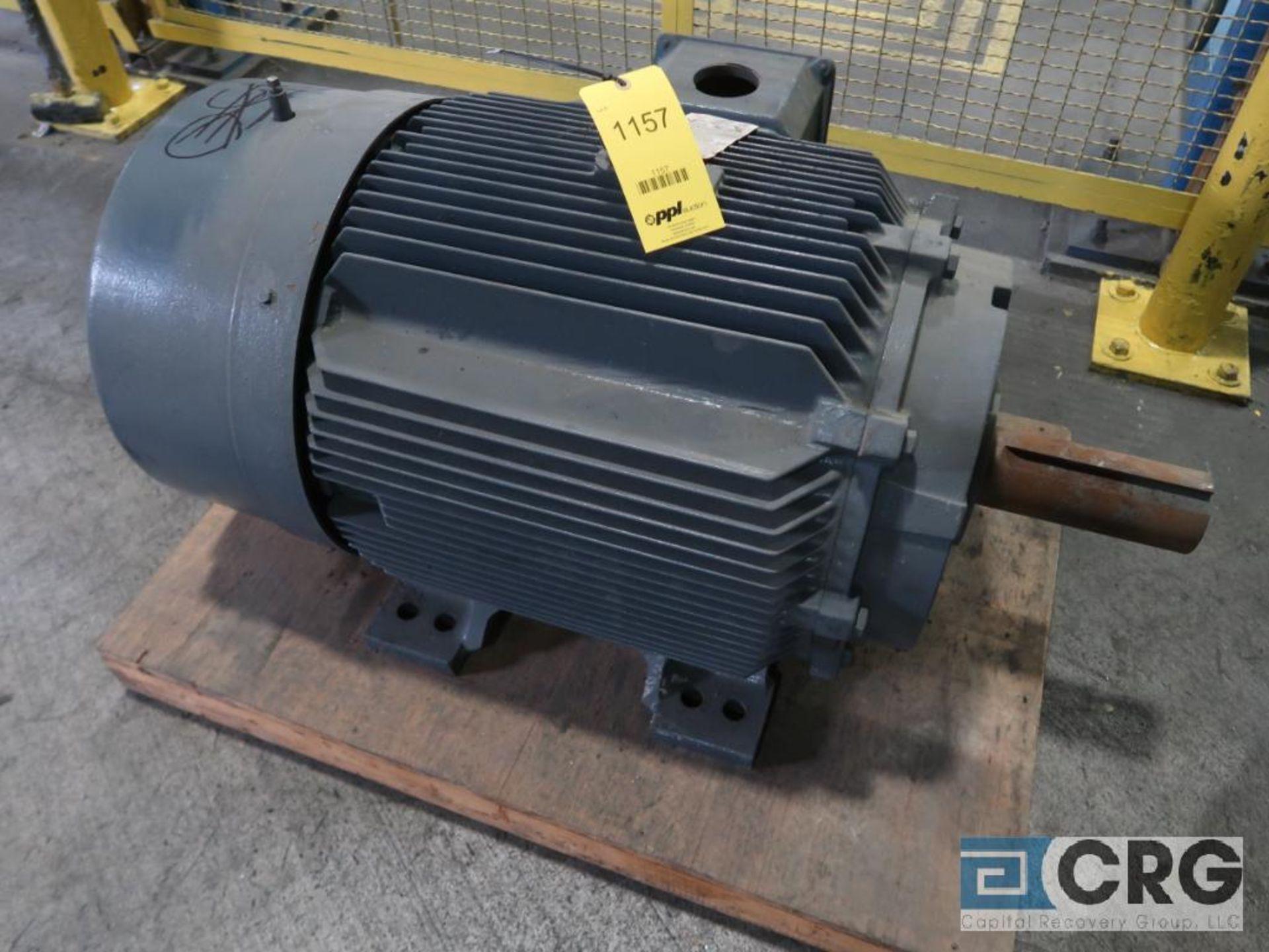 Siemens Premium Efficiency 21 PLUS motor, 125 HP, 1,785 RPMs, 460 volt, 3 ph., 444T frame (Finish