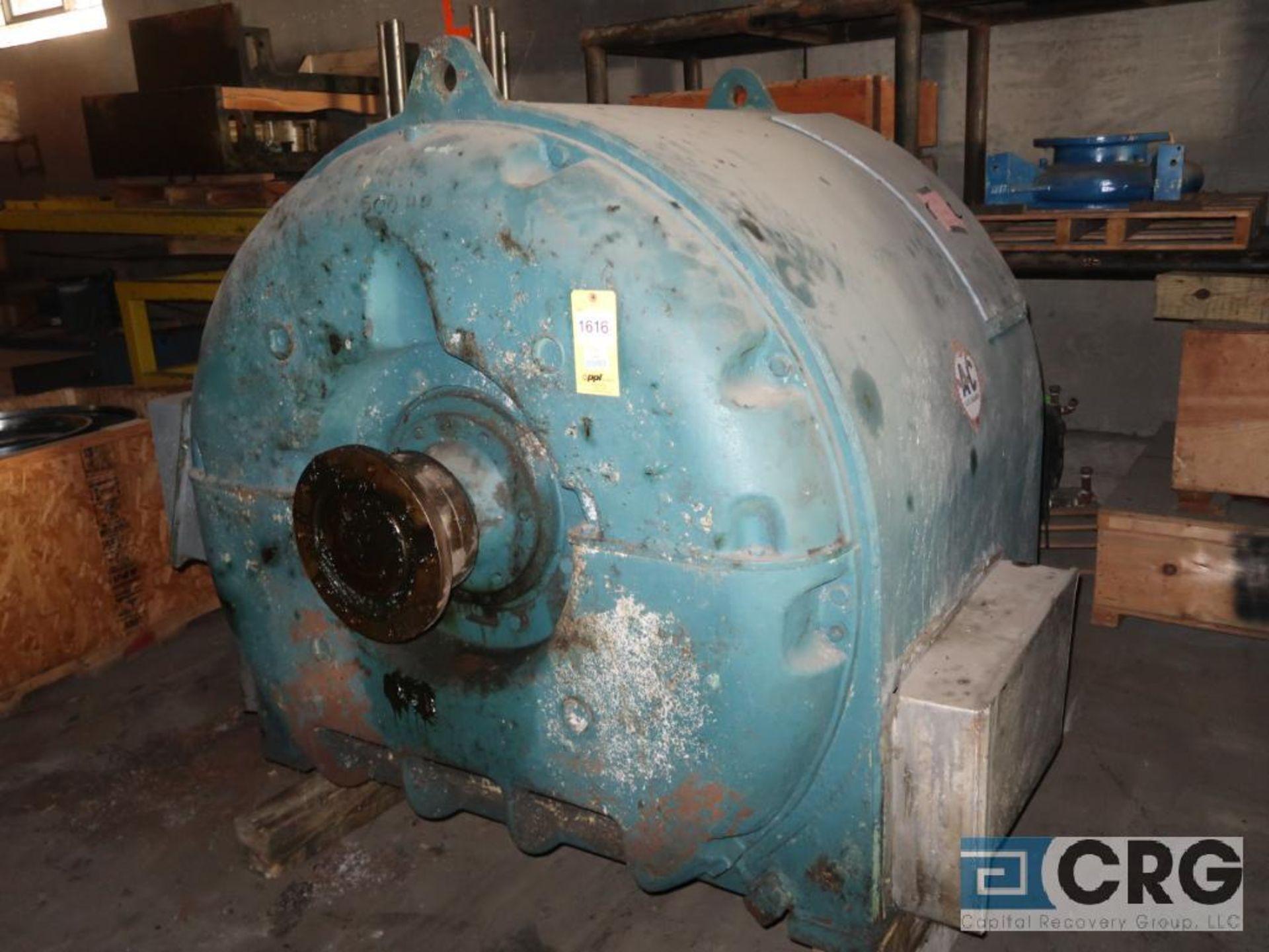 Allis Chalmers 500 HP motor, 2,300 volt, 3 ph., 514 RPM, s/n 160975 (Off Site Warehouse)