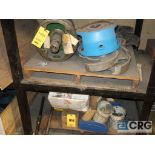 Lot of (5) sections of assorted Warren parts including cassing, impeller, and face plate (Basement