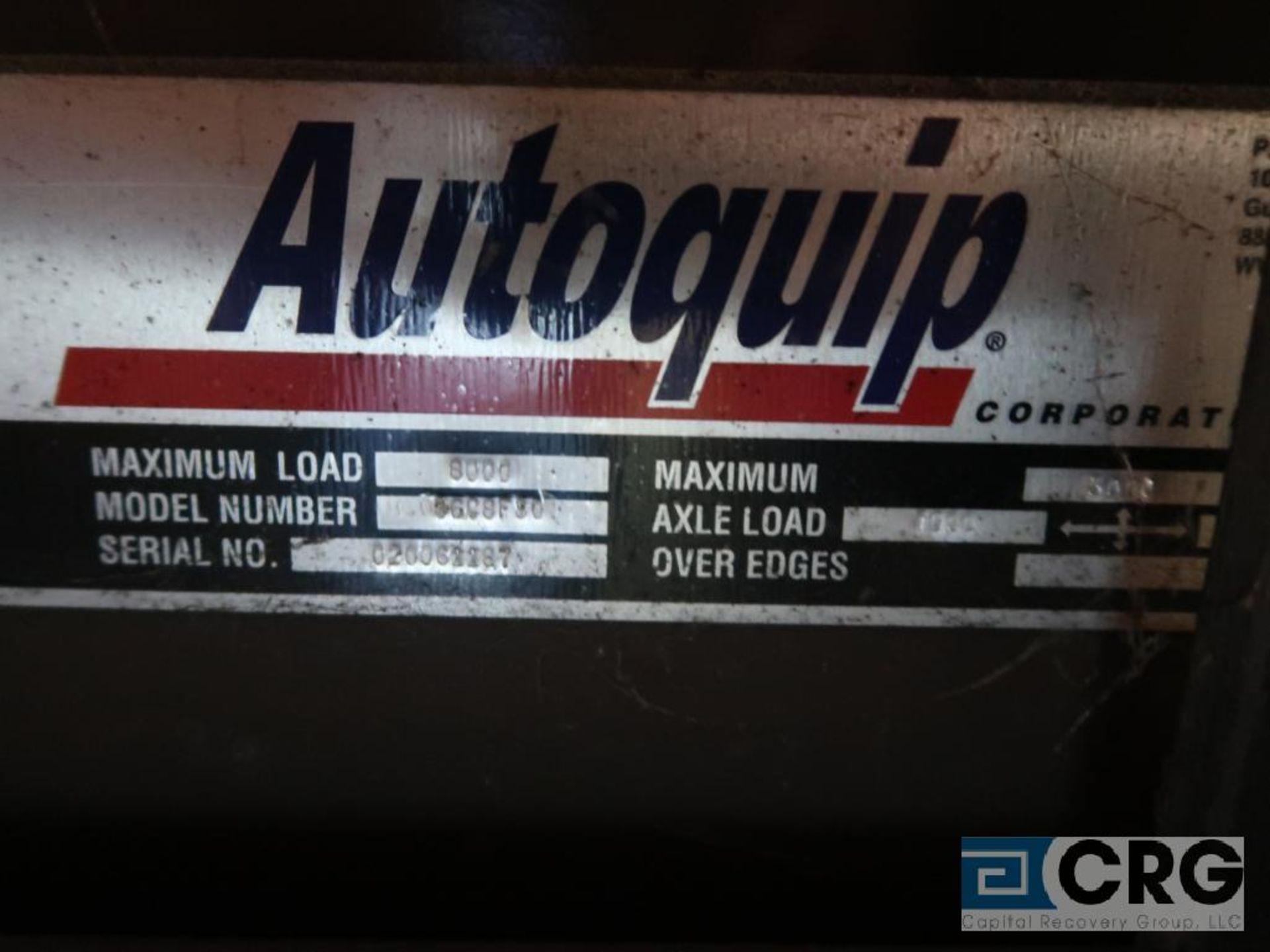 Autoquip GC8FJ hydraulic lift table, 64 in. L x 24 in. W, 8,000 lb. cap., s/n 61187 (Off Site - Image 2 of 2