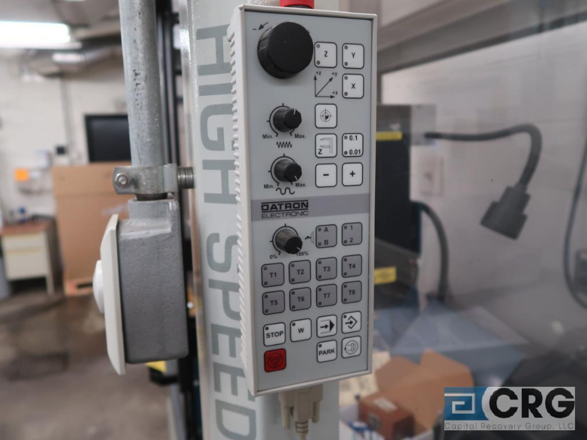 2001 Datron illing engraving center, m/n CAT3D-M4, s/n 40681, 3 axis, CNC, 9 position tool - Image 5 of 8