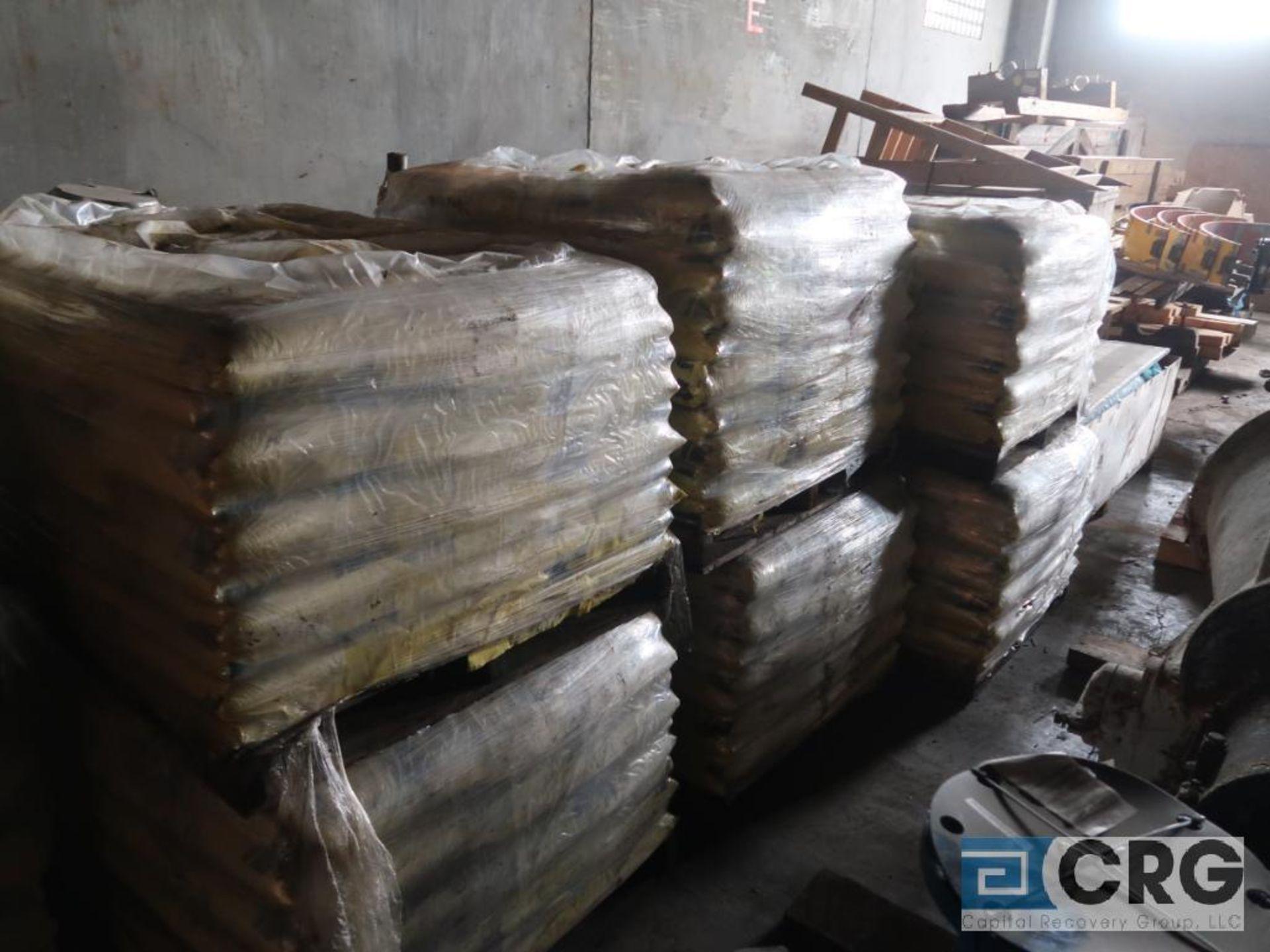 Lot of (10) pallets Ice Away rock salt, 100 bags per pallet, 25 lb. per bag (Next Bay)
