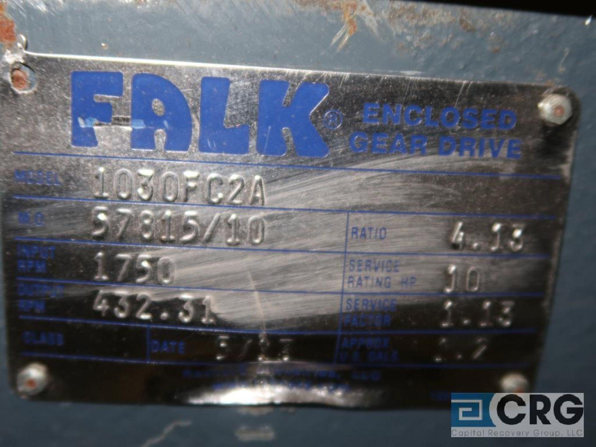 Falk 1030 FC2A gear drive, ratio 4.048, 1,750/432.31 RPM (Finish Building) - Image 2 of 2