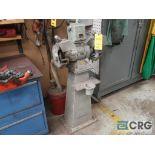Pedestal double end grinder, 440 volt (Basement Stores)