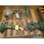 Lot of (3) assorted Fisher valves including (1) 3/4 in., (1) 2 15/16 in., and (1) 3 in. (496 Dock