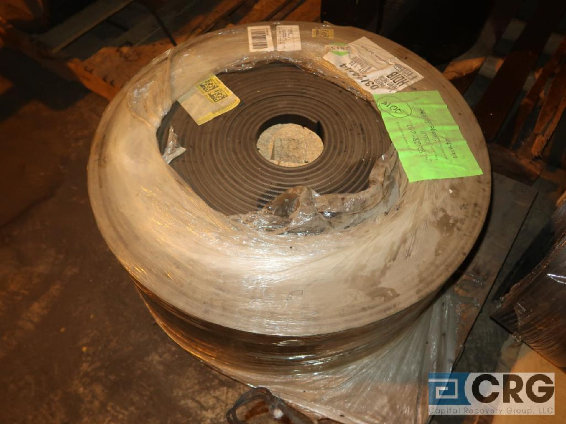 Lot of conveyor parts including belting, pulleys, and rollers (Next Bay Cage Area) - Image 4 of 5