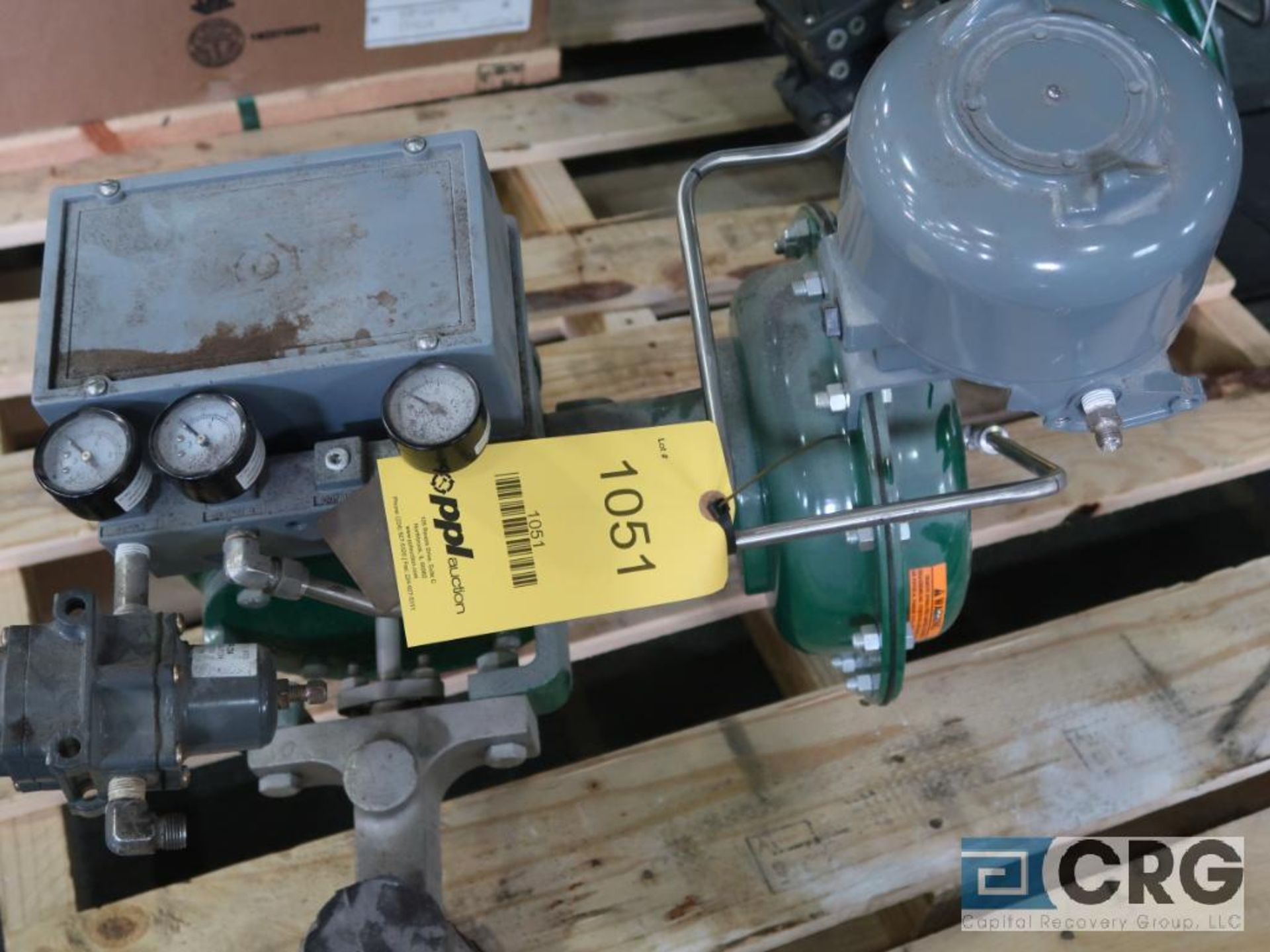 Fisher 3601J relief actuator valve, size 1, raing CL150, s/n 13167 (Finish Building)