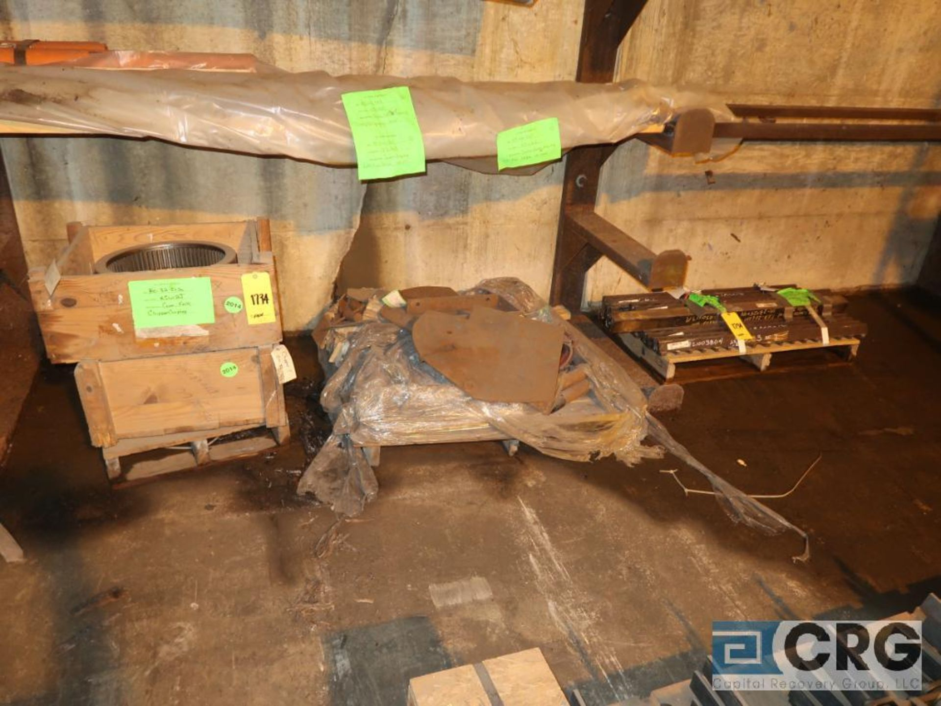Lot of assorted parts for debarker, coal, and chipper on (29) pallets (Next Bay Cage Area) - Image 17 of 17
