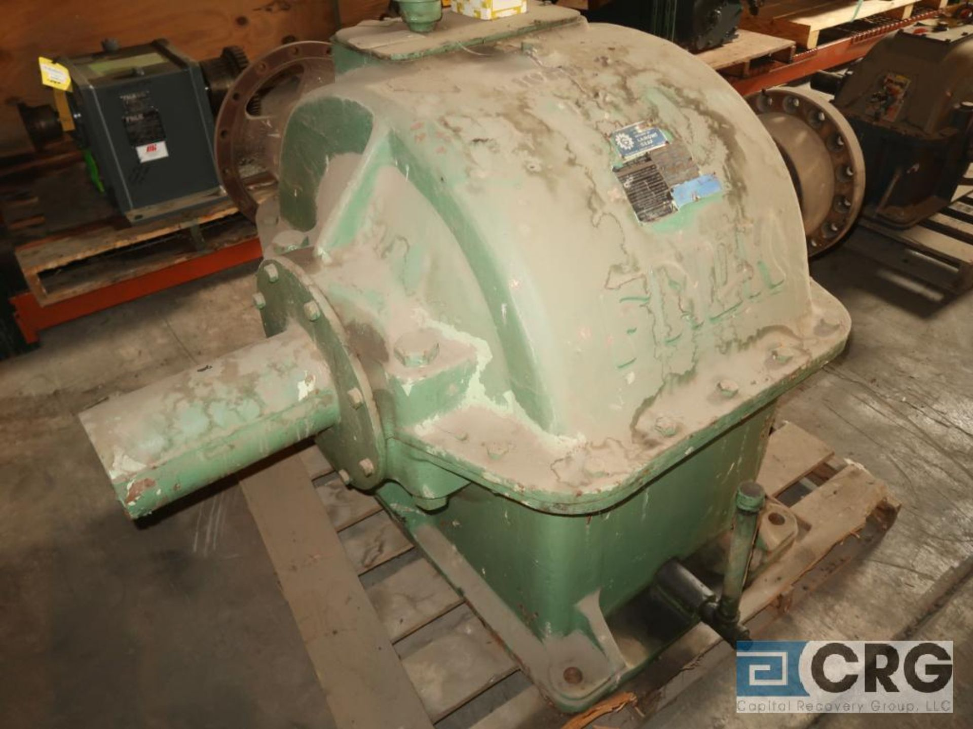 Falk 10GHB gear drive, ratio-3.529, RPM 513, s/n 622304 (Next Bay Cage Area) - Image 2 of 3