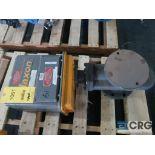 Maxon 4F 7000 4 in. shut off actuator valve, s/n 32892 (Finish Building)