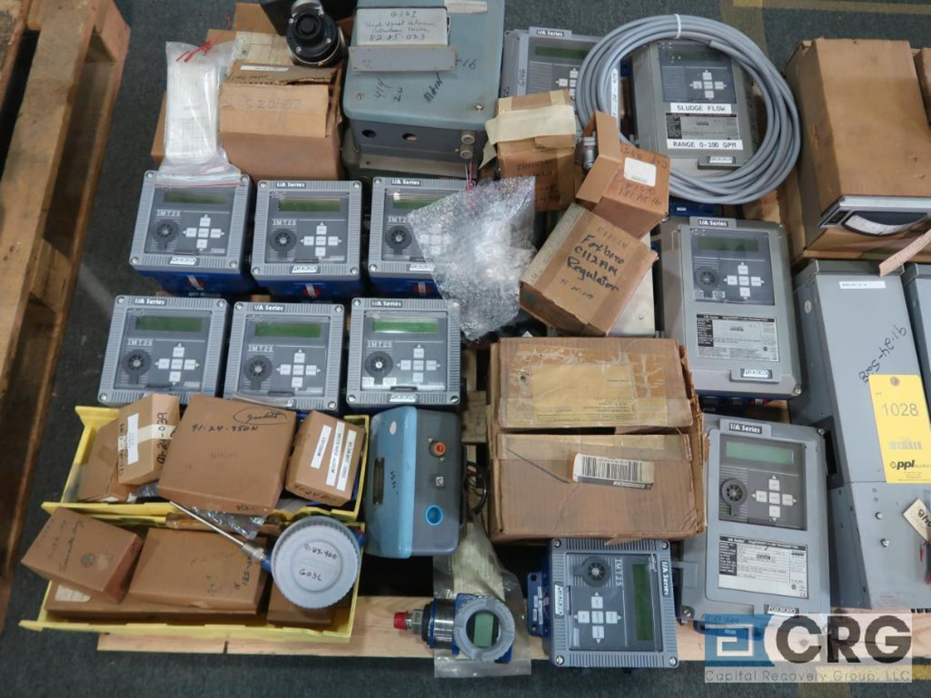 Lot of Foxboro instrumentation on (3) pallets including sensors, recorders, touch screen, and modems - Image 2 of 4