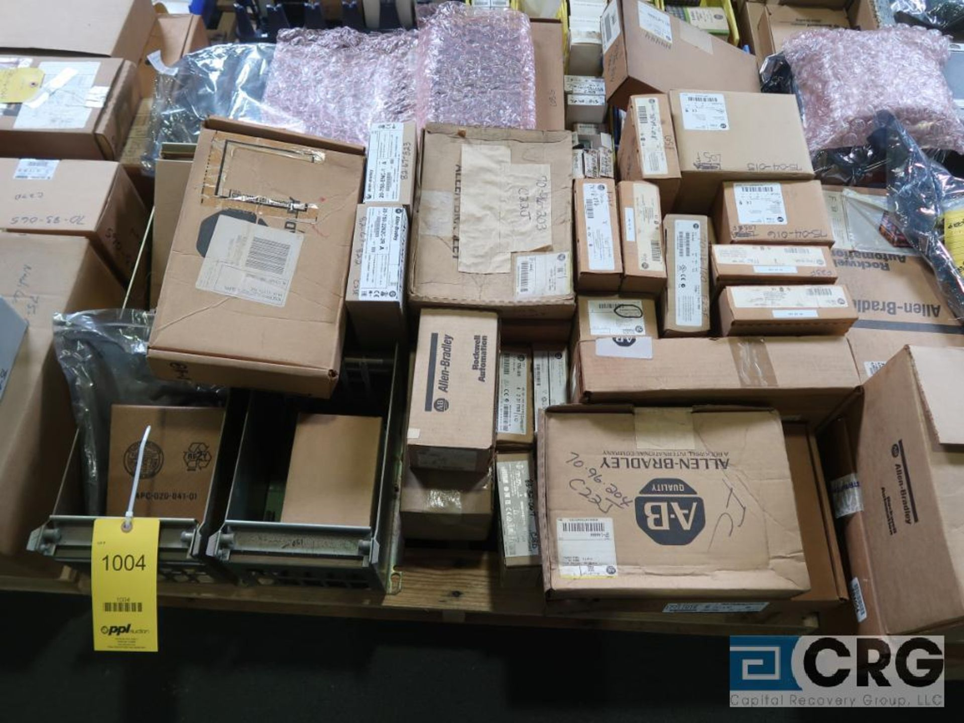 Lot of assorted Allen Bradley electrical automation on (13) pallets including sensors, relays, SLC - Image 5 of 12