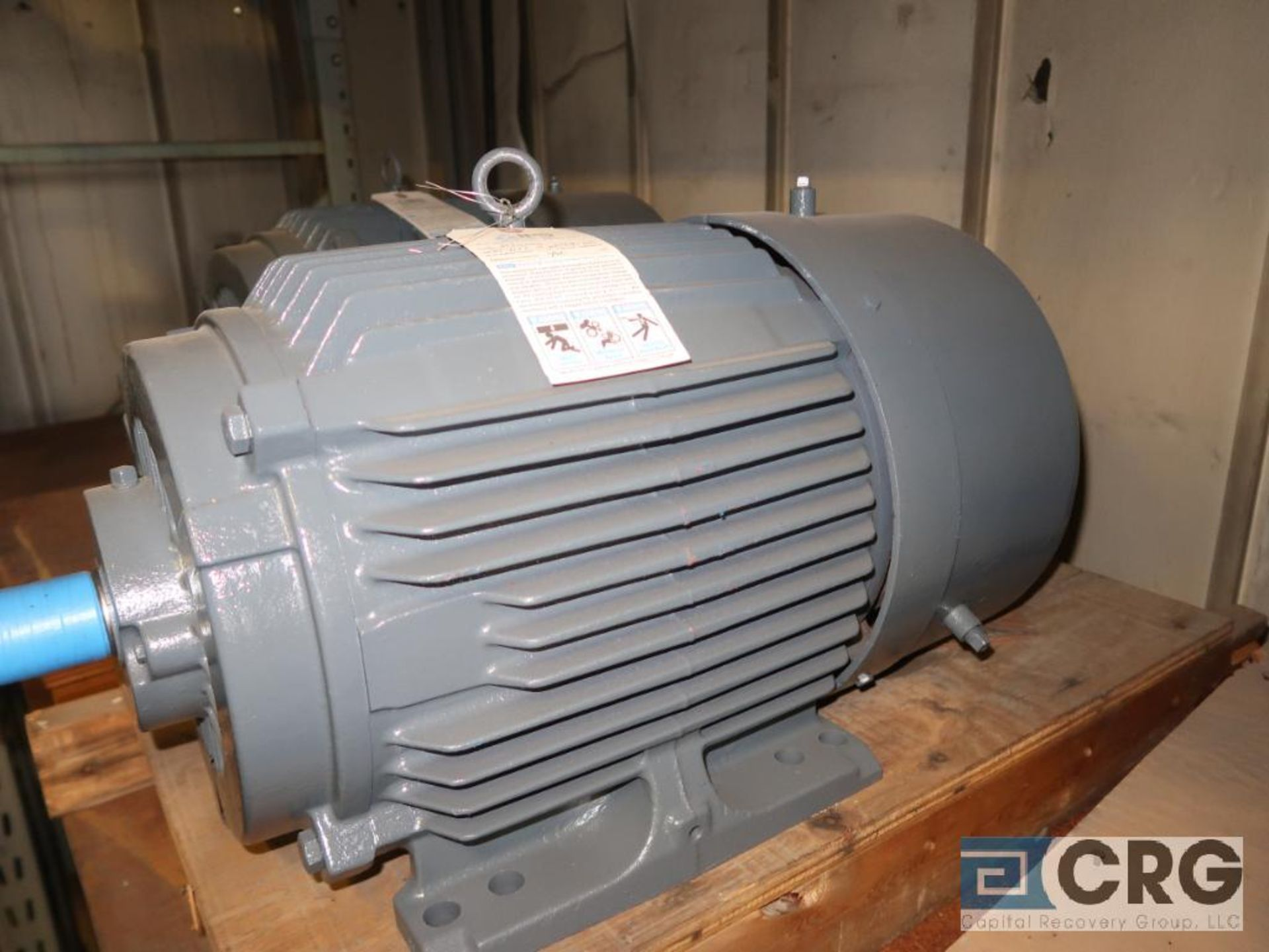 Lot of (3) assorted 25 HP motors (Motor Building) - Image 2 of 3