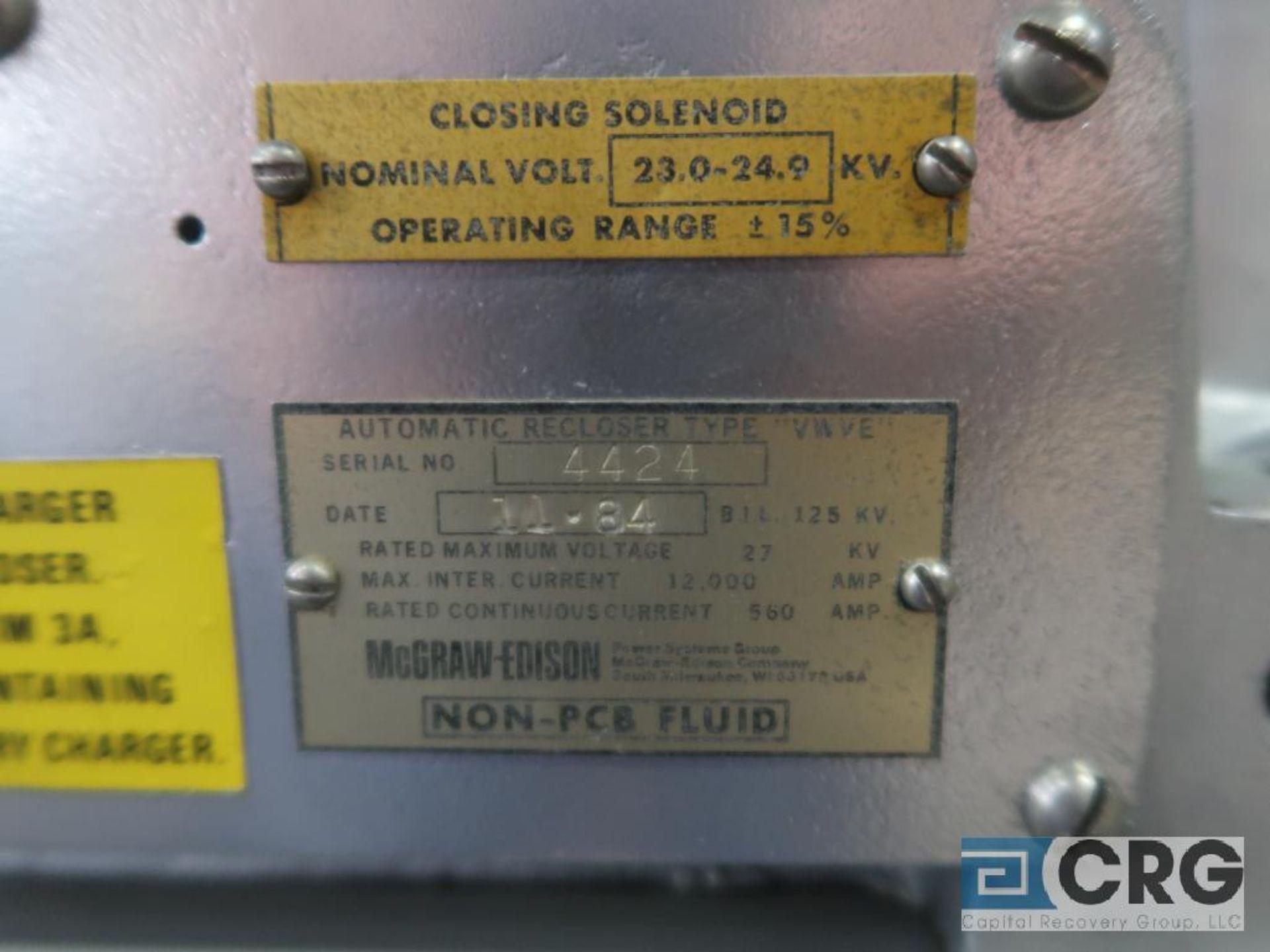McGraw-Edison 27 KVA transformer, s/n 4424 (Finish Building) - Image 2 of 2