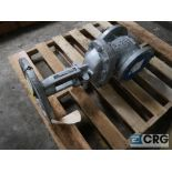 Newco 1204787 manual valve, 6 in., s/n N49301 (496 Dock Area)