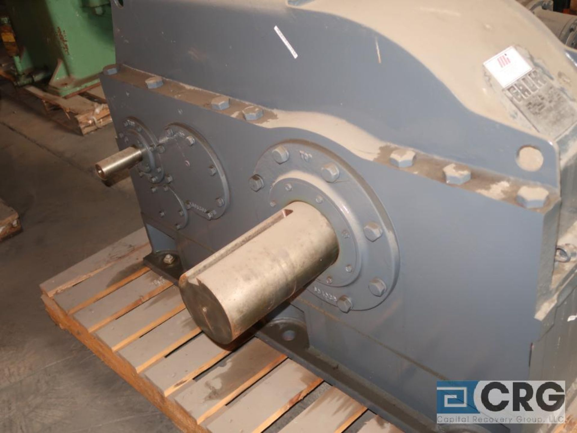 Falk 2110 Y3A gear drive, ratio-54.51, input RPM 839/315, output RPM 15.4/5.8, service rate HP. - Image 2 of 3