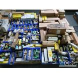 Lot of assorted fuses on (4) pallets (Finish Building)