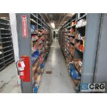 Lot of assorted bearings on (18) sections of metal shelving (located in Basement Store)