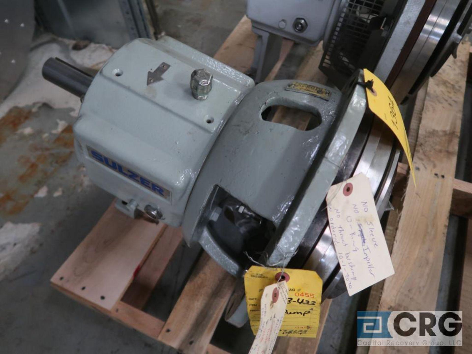 Sulzer APT 22-1A process pump, 10 x 8 x 13 (Basement Stores)