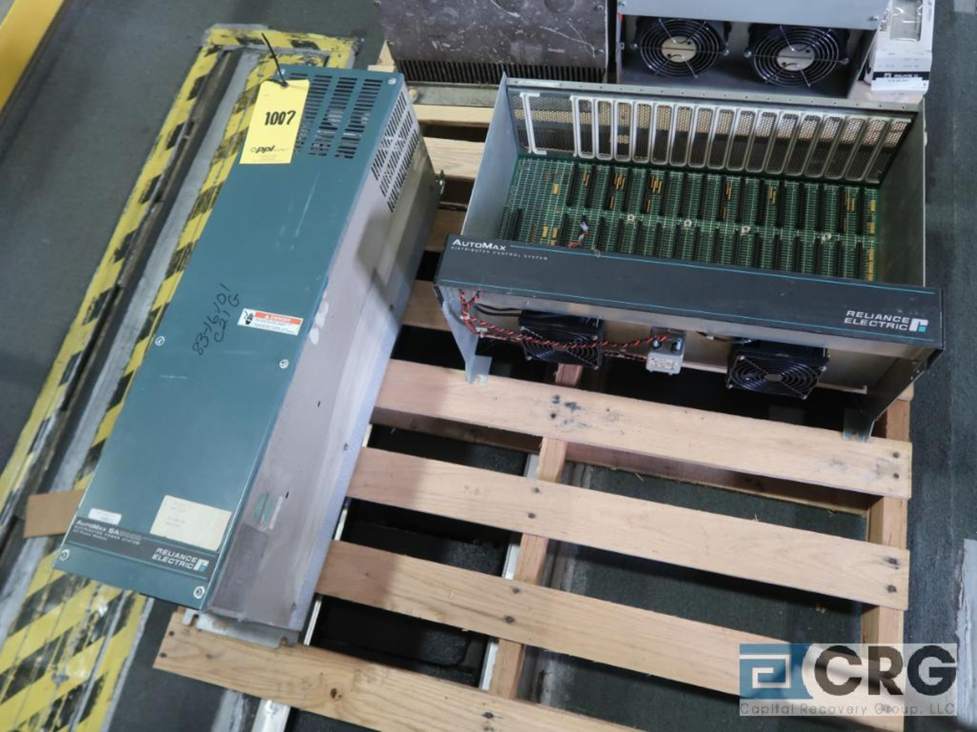 Lot of (3) Reliance AutoMarsa 3000 AC power module, IO chassis (Finish Building) - Image 3 of 4