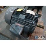 Teco/West electric motor, 60 HP, 1,800 RPMs, 460 volt, 3 ph., 364T frame (Finish Building)