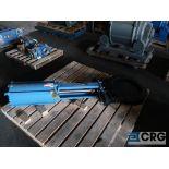 Dezurik 20 in. stainless pneumatic gate valve (Off Site Warehouse)