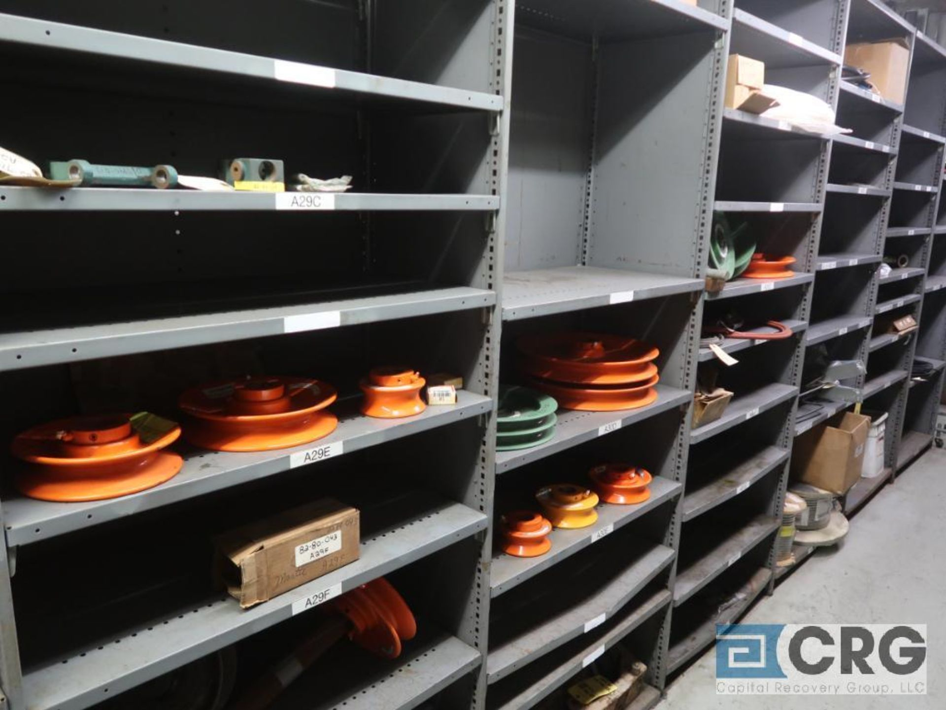 Lot of (14) sections with cable, chain, pulley, and conduit-CONTENT ONLY (Store Basement) - Image 9 of 10